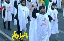 خروش مردم مراغه علیه آشوبگران + تصاویر
