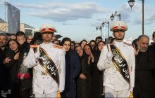 تشییع پیکر شهدای سانچی بعد از نماز جمعه در تهران