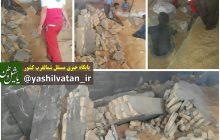 حادثه خونین ریزش دیوار و مرگ چهار نفر در سیلوی گندم در جاده مرند-جلفا