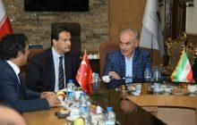 دیدار هیات آژانس کوداکا با مدیرعامل ارس   آغوش باز ارس برای سرمایه گذاران ترک/ اتصال هوایی و زمینی ارس به ترکیه