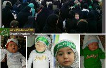 مراسم شیرخوارگان حسینی در مرند+تصویر