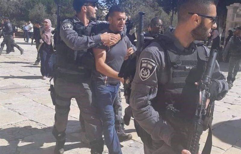 یورش نظامیان صهیونیست به منازل مردم و تلاش برای تخریب مغازههای فلسطینی
