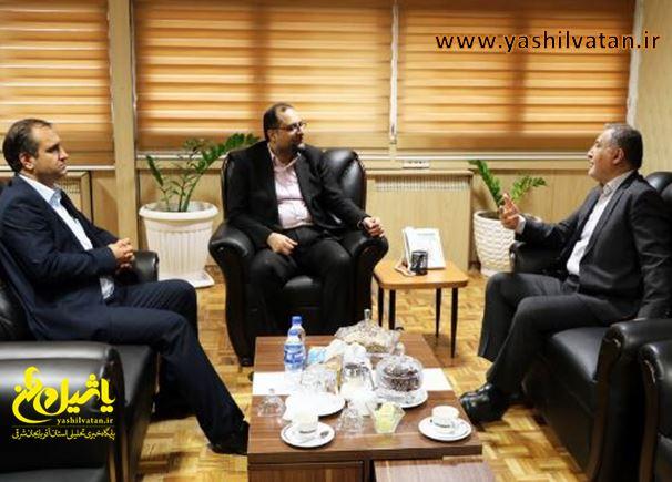 انتقال مشکلات تعاون روستایی آذربایجان شرقی توسط دکتر بیگی نماینده تبریز به سازمان مرکزی