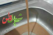 زلزله عامل گل الود شدن آب روستای قراجه فیض الله شهرستان مرند