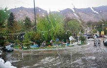 رگبار شدید تهران را غافلگیر کرد+عکس