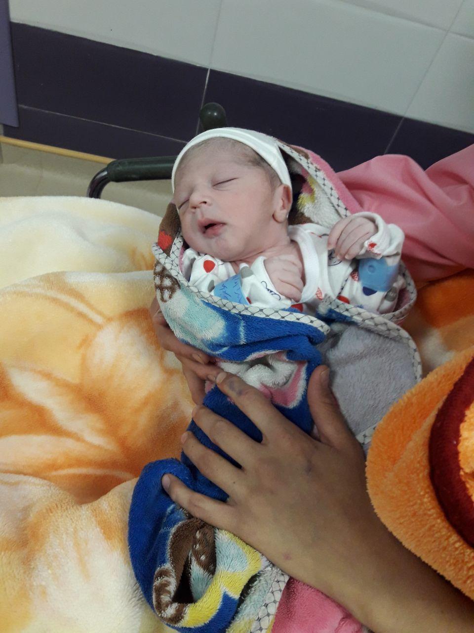 نجات زن باردار میانه ای به همت هلال احمری ها