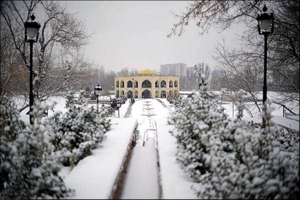 بارش برف در آذربایجان شرقی
