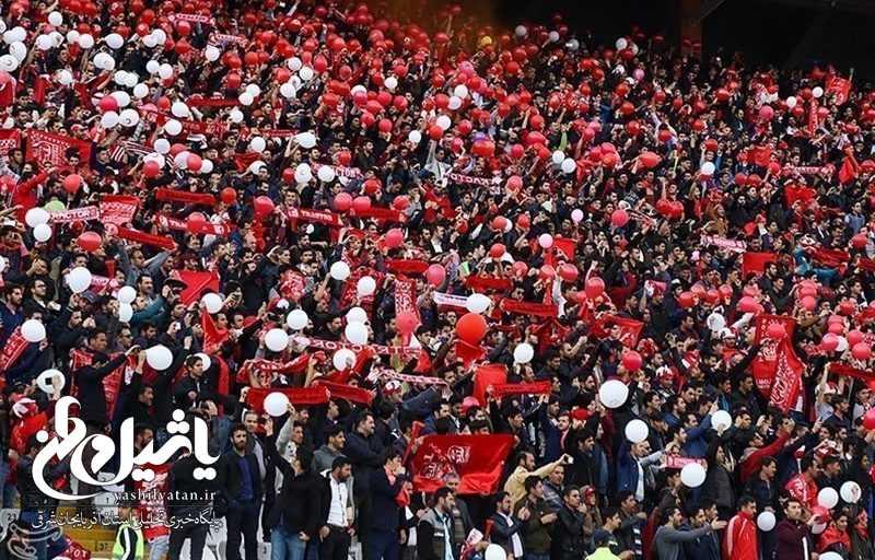 حاشیه دیدار تراکتورسازی  استقلال ظرفیت ورزشگاه یادگار امام (ره) تبریز پر شد ازدحام در ورودی ورزشگاه