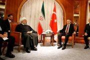 دیدار روحانی و اردوغان پیش از نشست سوچی