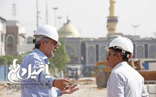 استفاده از فناوری سازههای آبی برای توسعه حرم امام حسین(ع) توسط مهندسان ایرانی + تصاویر