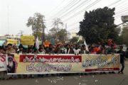 ادامه اعتراضات مردمی علیه سفر بن سلمان به پاکستان +تصاویر