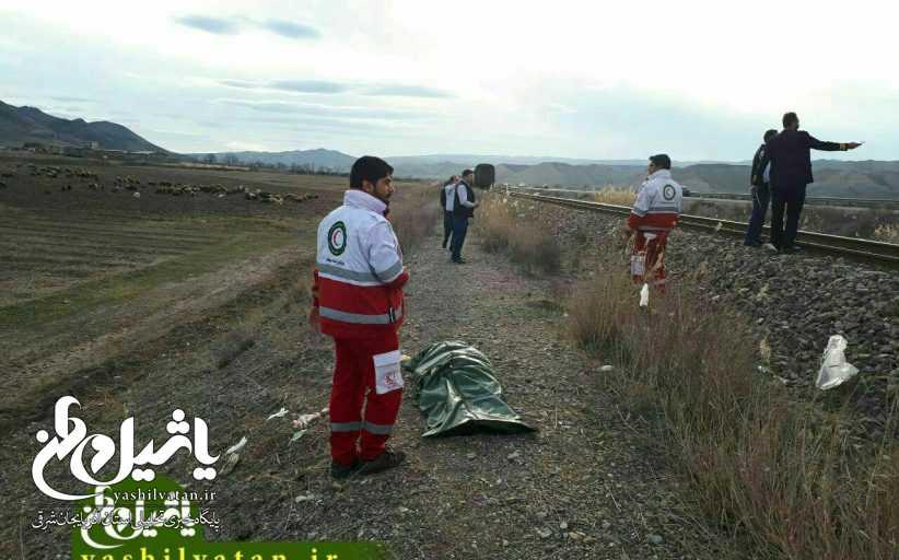 آذربایجان شرقی| برخورد قطار با عابر در میانه یک کشته بر جای گذاشت