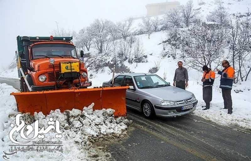 ۱۳۰ روستای آذربایجان شرقی در محاصره برف؛ راههای ارتباطی قطع شد