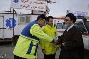 بازدید حجت الاسلام آلهاشم از پایگاههای امداد جادهای نوروزی آذربایجان شرقی