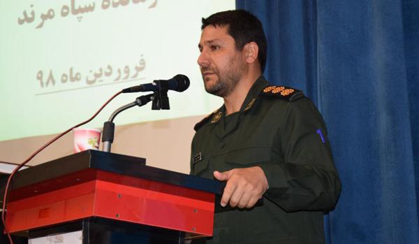گزارش تصویری/ تودیع و معارفه فرمانده سپاه ناحیه مرند برگزار شد