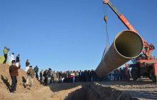 ۱۰۵ کیلومتر از خط انتقال آب رود ارس به تبریز با فاینانس چینی احداث میشود