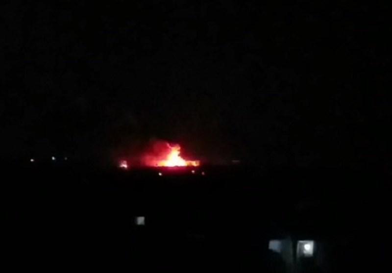 پدافند ارتش سوریه تجاوز هوایی به دمشق را دفع کرد