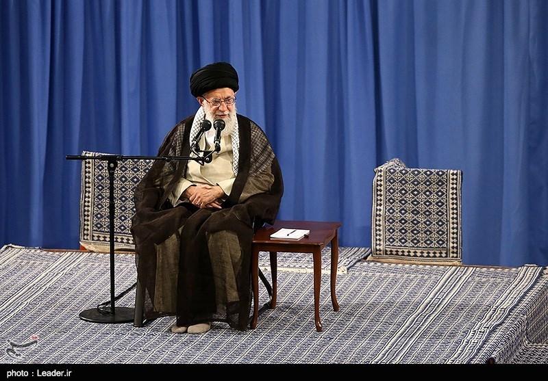 مسئولان نظام با امام خامنهای دیدار کردند