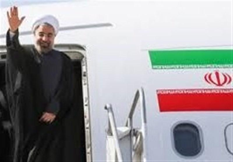 روحانی از بیشکک عازم دوشنبه شد