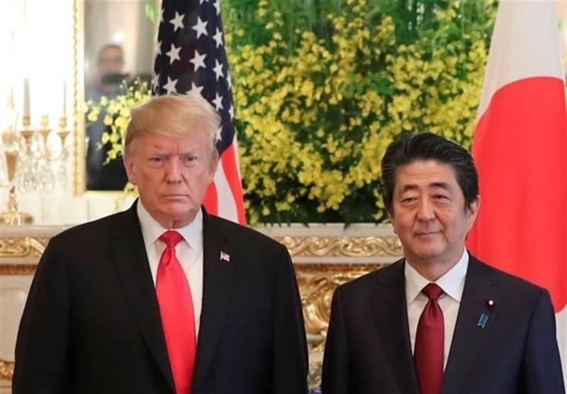 گفتگوی تلفنی شینزو آبه و ترامپ