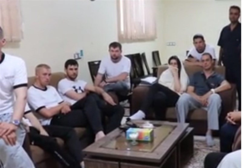 قدردانی خدمه نفتکش سانحه دیده از ایرانیها