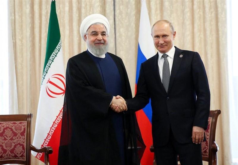 روحانی در دیدار با پوتین: اقدامات ایران در چارچوب حقوق خود در برجام است