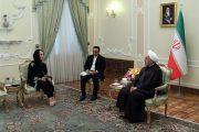 روحانی: نهادهای بینالمللی عکسالعمل مناسبی به نقض حریم هوایی ایران توسط آمریکا نشان دهند