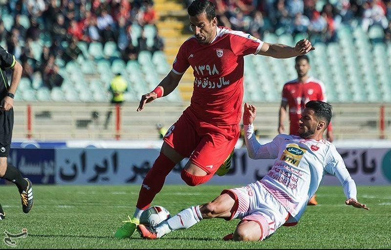 لیگ برتر فوتبال  پیروزی تراکتور برابر پرسپولیس در ۴۵ دقیقه اول