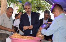 گزارش تصویری / جشنواره بادام در شهرستان مرند (روستای دولت آباد) برگزار شد