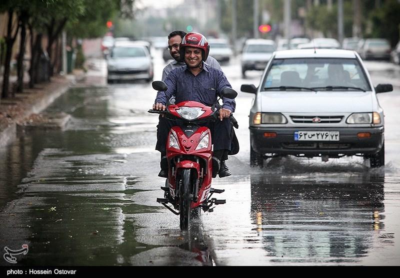 پیش بینی ۶ روز بارانی در استانهای شمالی/کاهش ۱۰ درجهای دما