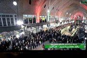 عزاداری پاکبانان در بازار تبریز به روایت تصویر