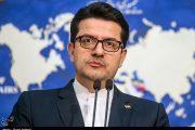 سخنگوی وزارت خارجه: سیاست فشار حداکثری آمریکاییها بهسمت «دروغ حداکثری» گرایش پیدا کرده است