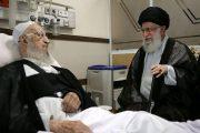 رهبر معظم انقلاب از آیتالله مکارم شیرازی عیادت کردند