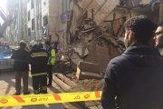ریزش ساختمان نیمه کاره در تبریز جان ۲ کارگر را گرفت