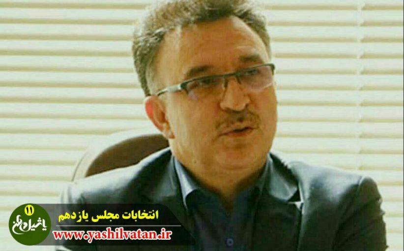 کاندیداهای احتمالی مجلس یازدهم /مرند و جلفا/ حسن فدائی