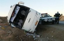 ۲۸ مصدوم در ۲ سانحه رانندگی اتوبوس و مینیبوس در آذربایجان شرقی