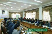 از ادارات ورزش و جوانان شهرستان های برتر استان تجلیل شد.