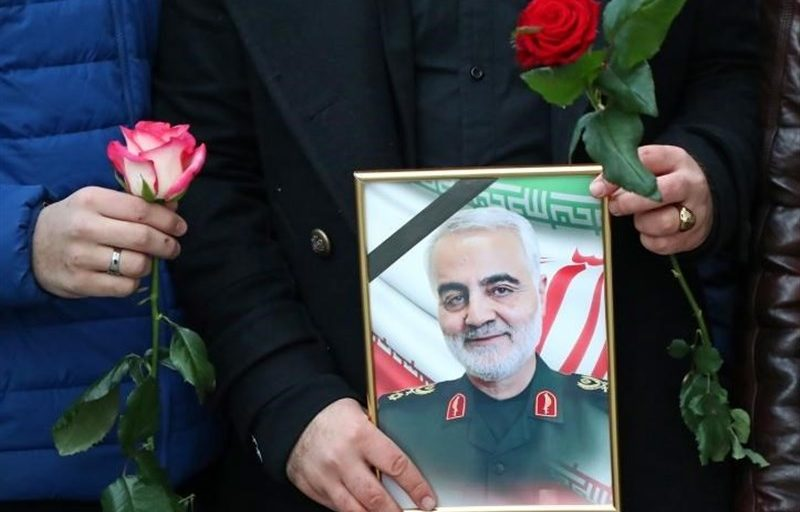 بزرگراه رسالت بناب به نام شهید سردار سپهبد سلیمانی تغییر نام داد