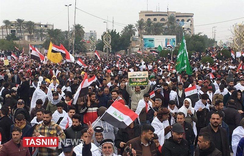 بازتاب تظاهرات میلیونی مردم عراق علیه اشغالگری در رسانههای دنیا