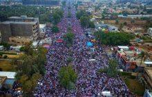 جمعه استقلال و حاکمیت عراق|تظاهرات میلیونی علیه آمریکا/ مردم: خواسته اصلی ما اخراج نظامیان اشغالگر است+ تصاویر