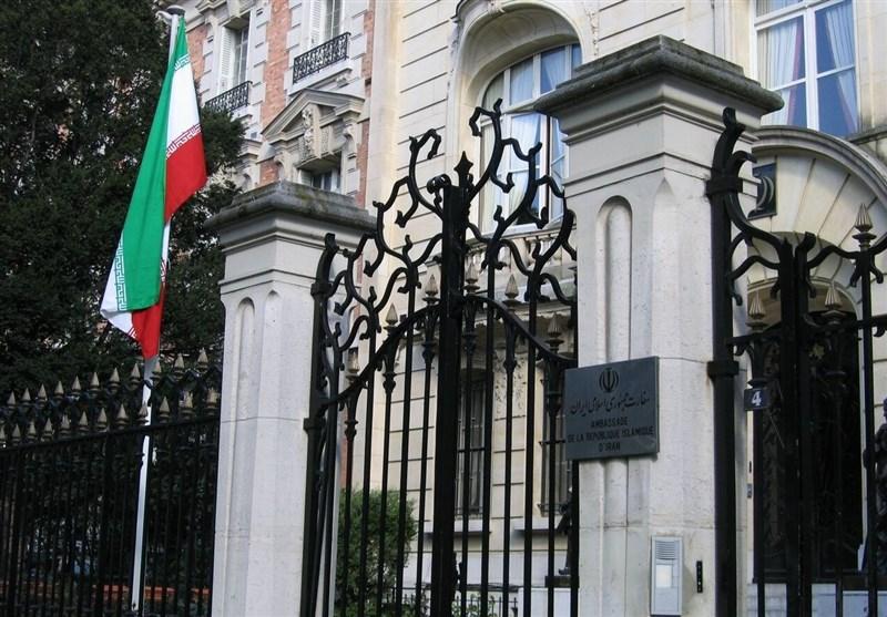 سفارت ایران در پاریس: برخی نهادهای فرانسوی در تحریم بدتر از آمریکا هستند