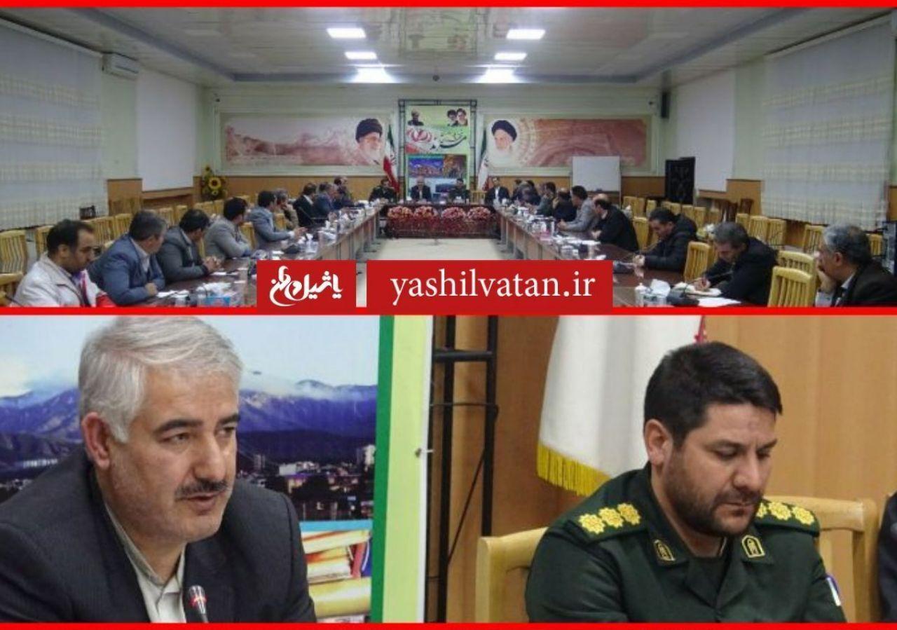 جلسه قرارگاه زیستی شهرستان مرند شامگاه یکشنبه برگزار شد