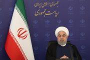 روحانی: پیک اول کرونا در برخی استانها عبور کرده است/مراعات مردم در خردادماه کاهش یافته است