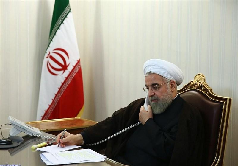 روحانی در تماس تلفنی با نخست وزیر انگلیس: سیاست قطعی ایران در برجام عمل در برابر عمل است