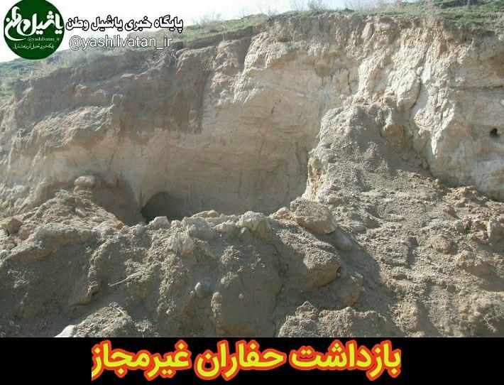 دستگیری دو عامل حفاری غیرمجاز در شهرستان مرند