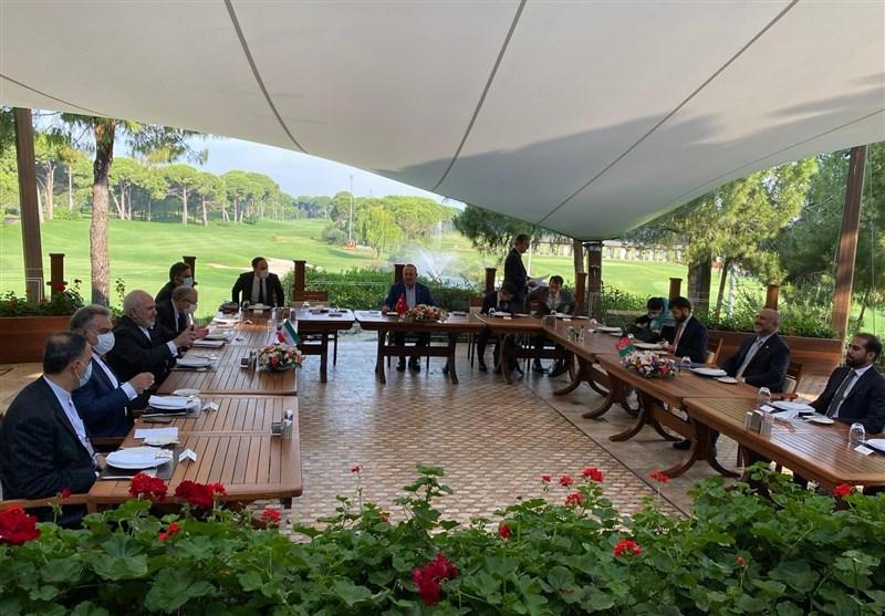 برگزاری نشست ۳جانبه وزرای خارجه ایران، ترکیه و افغانستان درباره ترانزیت و امنیت