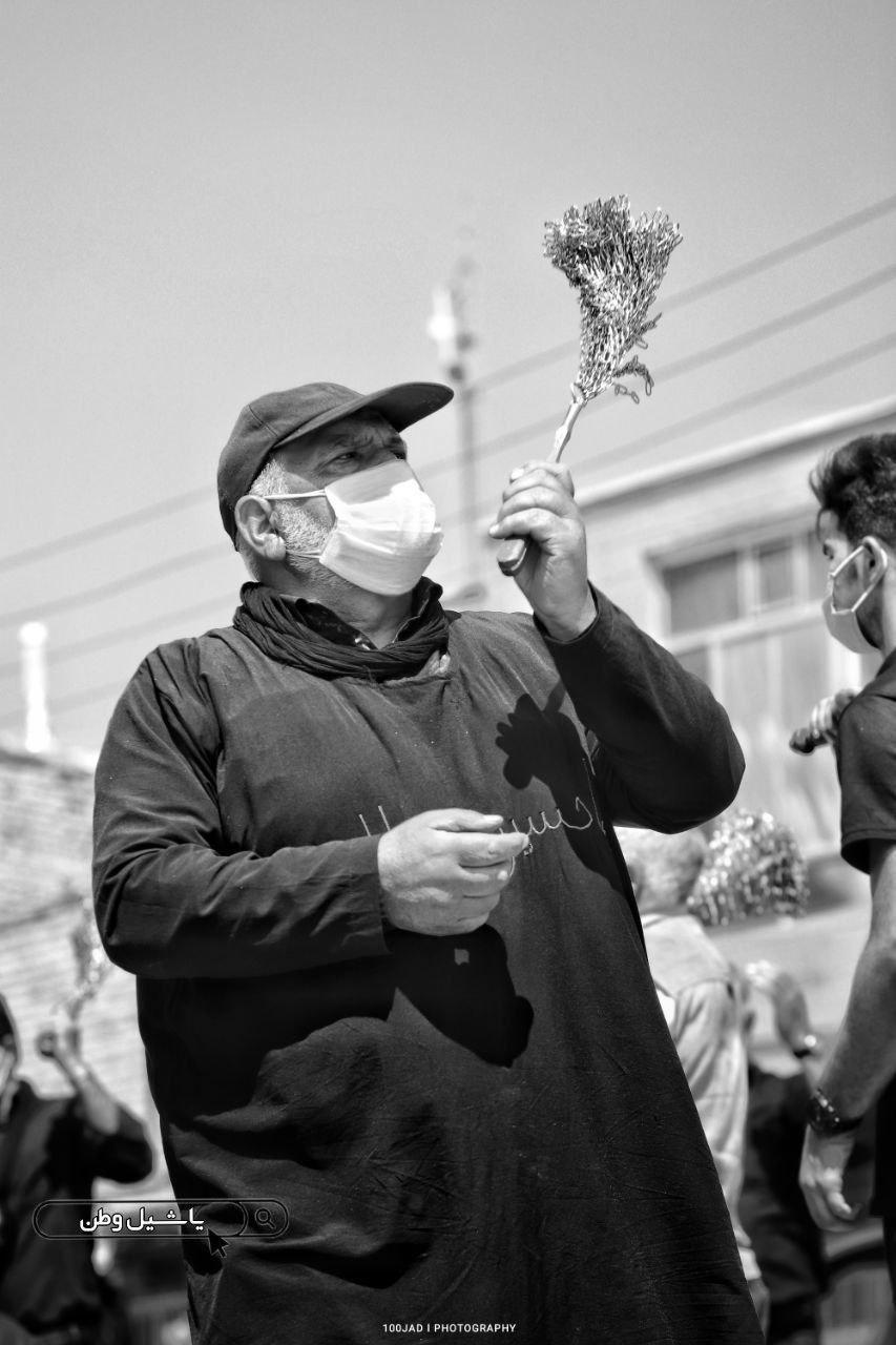 عزاداری در شهرستان مرند به روایت تصویر+فیلم